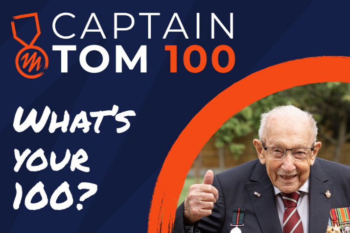 The Captain Tom 100 Challenge